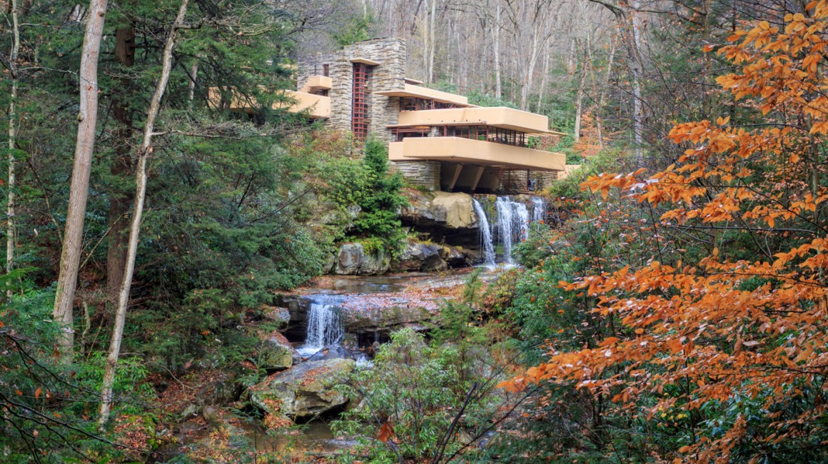 Fallingwater in autumn